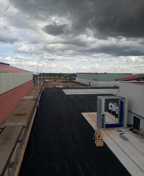 centro logistico exterior